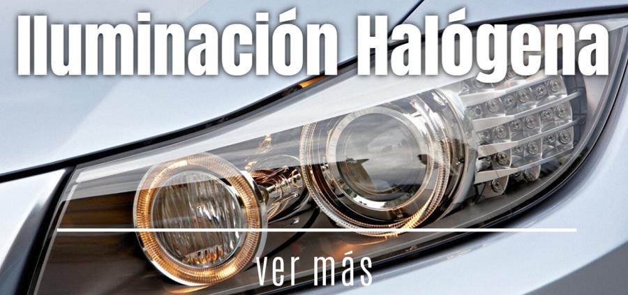 iluminacion halogena